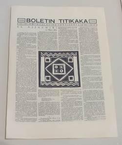 Publicación puneña. Primer número en Agosto de 1926; el último número en 1930.