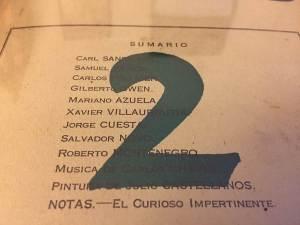 ULISES 1927-1928 - Nro. 2