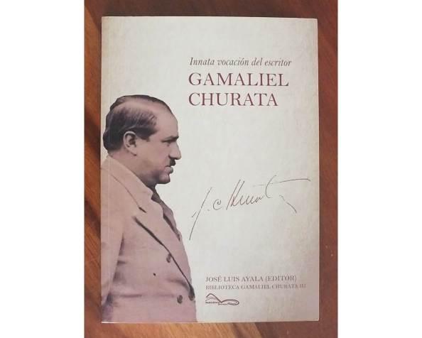Innata vocación del escritor. GamalielChurata
